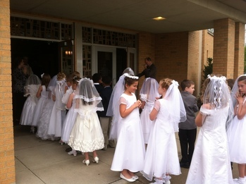 First Communion Practice