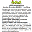 Christmas Youth Choir