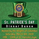 Knights of Columbus - St. Patrick's Day Dinner Dance