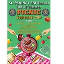 3rd Annual Parish Picnic - Sunday Sept. 29