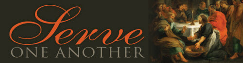 Serve one another: Catholic Services Appeal logo