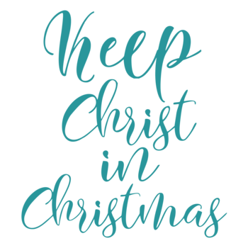 KEEP CHRIST IN CHRISTMAS CARD SALE sponsored by Knights of Columbus