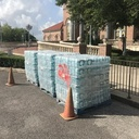 Bottled Water Distribution/Hurricane Prep.