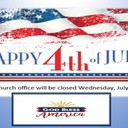Parish Office Complex Closed-Independence Day