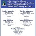 All Are Invited-Mass of Thanksgiving/Retirement for Bishop Curtis Guillory, SVD, DD