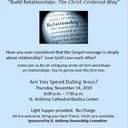 Build Relationships-The Christ Centered Way