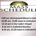 Parish Mass Schedule