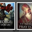 The Feast Day of St. George & St. Adalbert