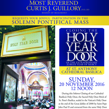 Closing the Holy Year Door