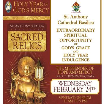 Sacred Relics Exposition in the Cathedral