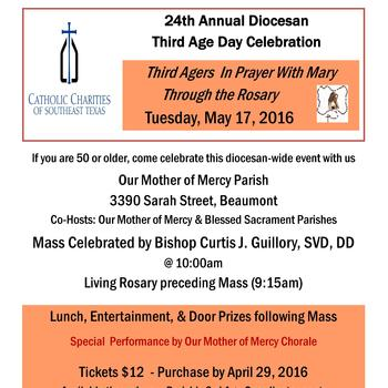 24th Annual DiocesanThird Age Day Celebration