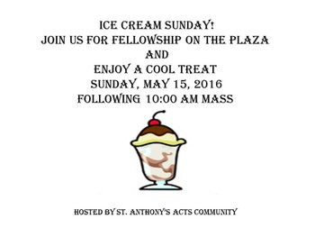 Ice Cream Sunday Social