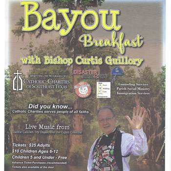 Bayou Breakfast With the Bishop