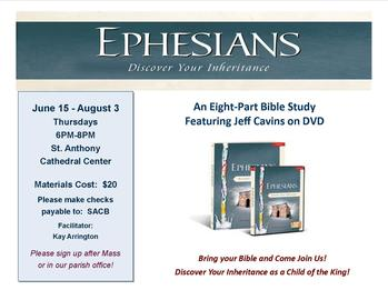 Ephesians-Discover Your Inheritance