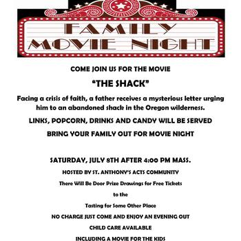 "Movie Night! ""The Shack"""