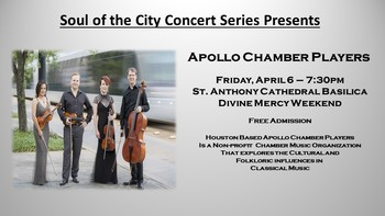 Soul of the City-Apollo Chamber Players Concert