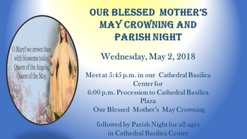 May Crowning-Parish Night
