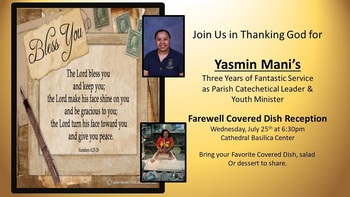 Farewell Reception for Yazmin Mani