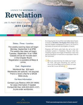 """Revelations: The Kingdom Yet to Come"" Bible Study"