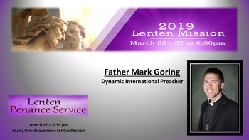 Dynamic Lenten Mission