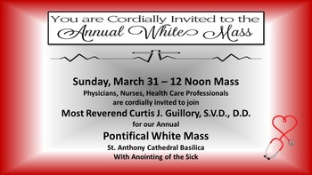 "White Mass ""All Are Welcome"""