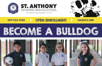 St. Anthony Cathedral Basilica School-Open Enrollment