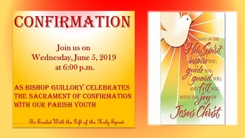 Celebrating the Sacrament of Confirmation With Our Youth