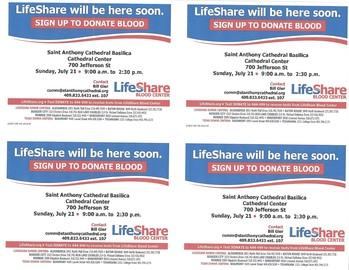 Share the Gift of Life! Donate Blood