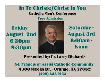Christ in You Catholic Men's Conference