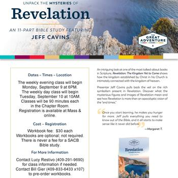 Revelation Bible Study-Day Sessions