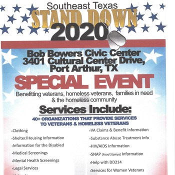 Southeast Texas Stand Down 2020