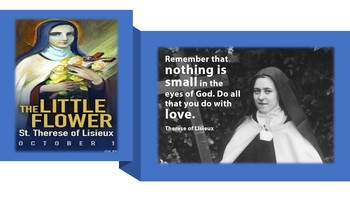 The Feast Day of St. Therese of Lisieux