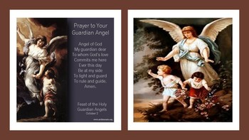 The Feast Day of the Holy Guardian Angels