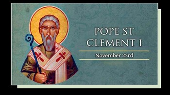 The Feast Day of St. Clement