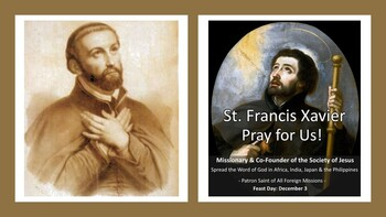 Feast Day of St. Francis Xavier