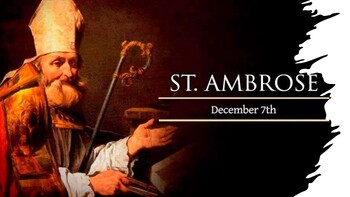 The Feast Day of St. Ambrose