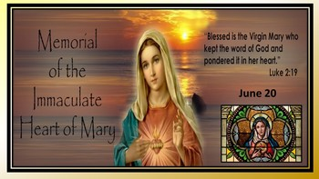 Memorial of the Immaculate Heart of Mary