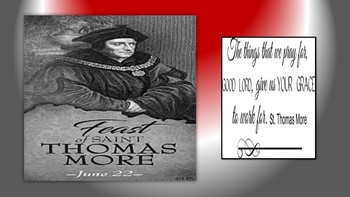 Feast of St. Thomas More