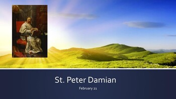The Feast Day of St. Peter Damian