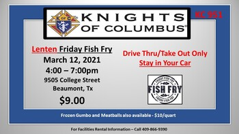 KC-951 Lenten Fish Fry
