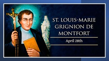 The Feast Day of Saint Louis Mary de Montford