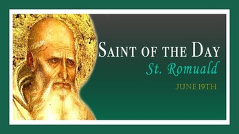 The Feast Day of St. Romuald