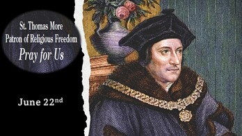 The Feast Day of St. Thomas More