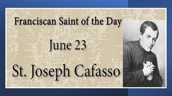 The Feast Day of St. Joseph Cafasso