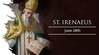 The Feast Day of St. Irenaus