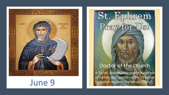 The Feast Day of St. Ephrem