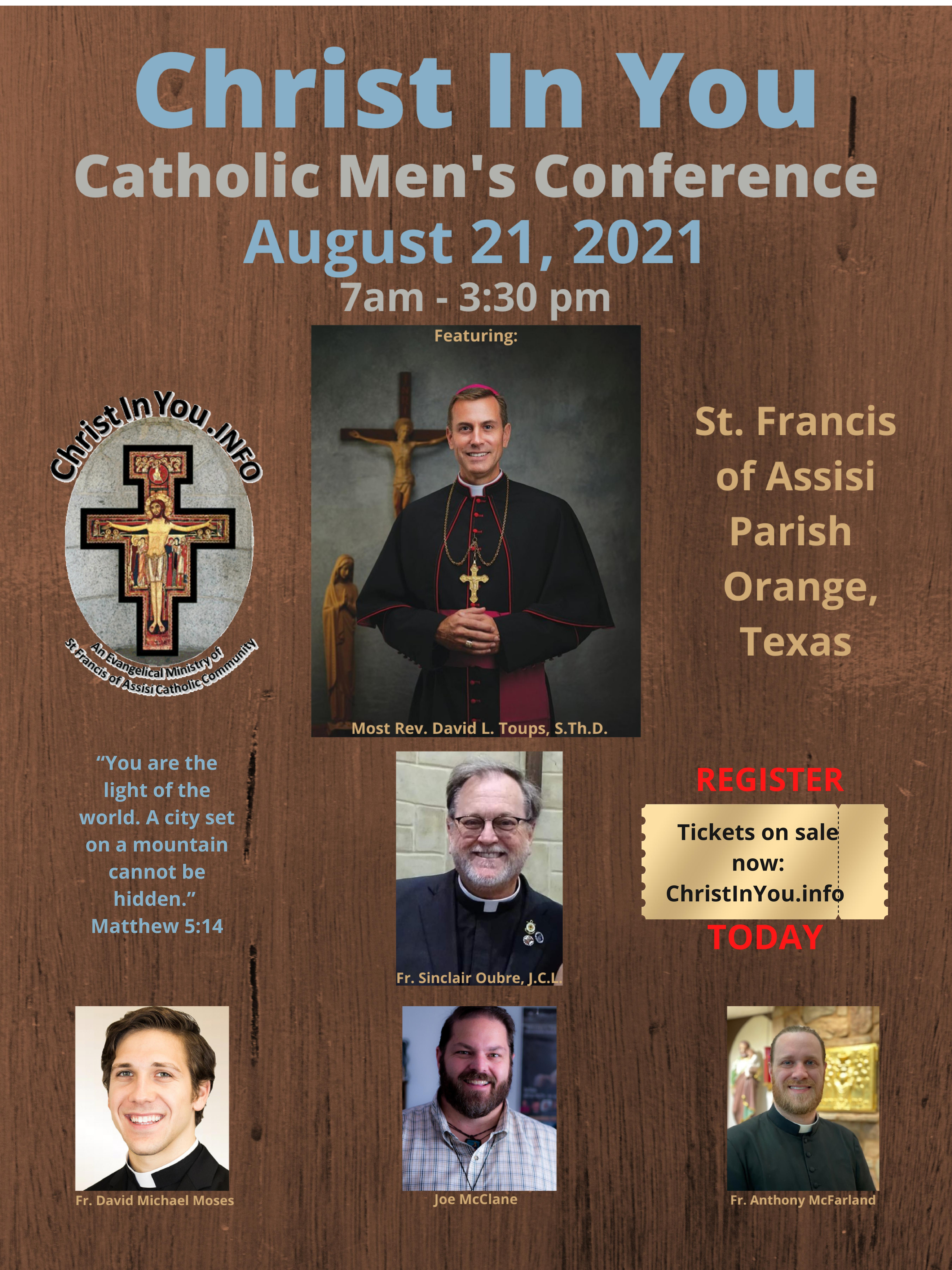 Christ in You-Catholic Men's Conference