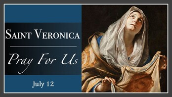 The Feast Day of St. Veronica