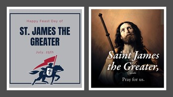 The Feast Day of St. James the Greater