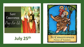 The Feast Day of St. Christopher
